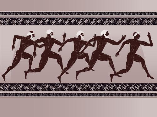 Os jogos olímpicos tiveram origem na Grécia Antiga e eram celebrados na cidade de Olímpia