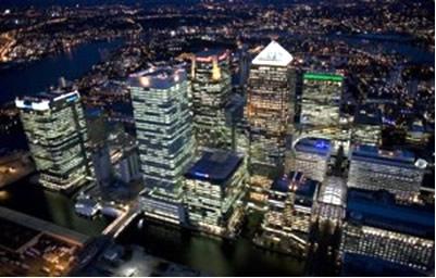 Londres, uma das maiores cidades da Europa.