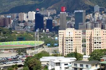 Caracas, capital da Venezuela.