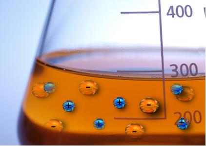 O cálculo da concentração em mol/L dos íons presentes em solução depende do seu grau de dissociação ou de ionização