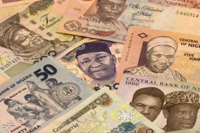 Naira, moeda da Nigéria