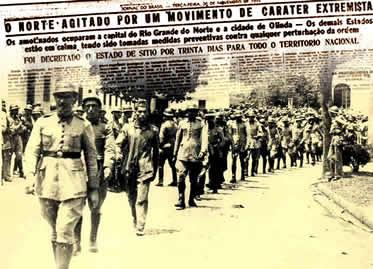 Intentona Comunista: um movimento frustrado que se opôs ao autoritarismo do governo Vargas.