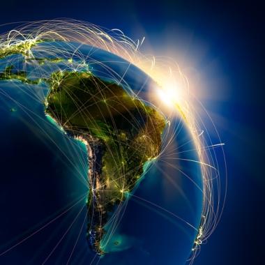 A globalização no Brasil se intensificou a partir da década de 1990