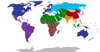 No mundo multipolar existem vários pólos mundiais de poder