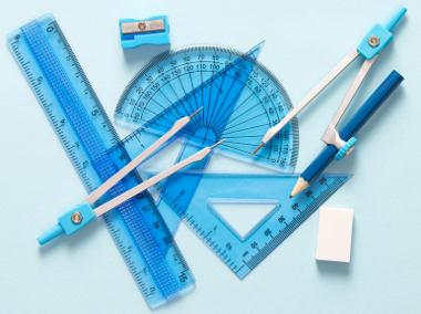 Ferramentas usadas para medir e construir ângulos no círculo trigonométrico
