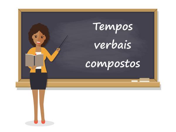 Os tempos verbais compostos possuem diferença de sentido em relação aos seus correspondentes na forma simples