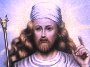 Zoroastro, o maior profeta da religião persa.
