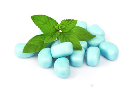 Bala de menta: sabor característico do mentol.