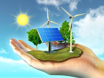 As energias renováveis podem ser usadas como forma de desenvolvimento sustentável