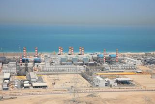 Usina de dessalinização da água do mar em Dubai