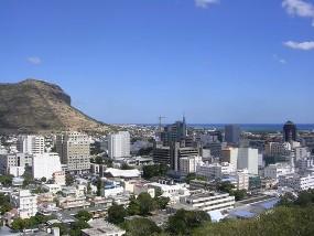 Port Louis, capital de Maurício.