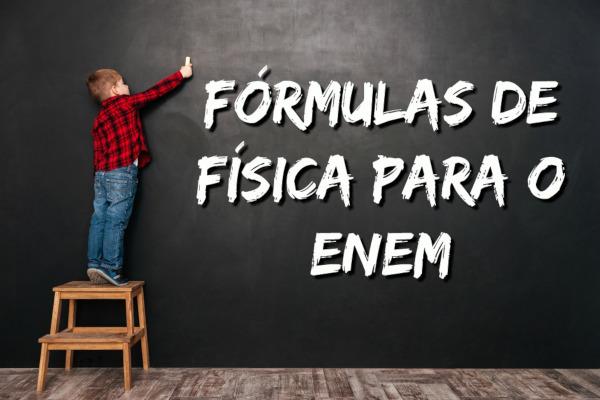Conhecer as equações de Física e entendê-las é o primeiro passo para fazer a maioria das questões do Enem que envolve Física.