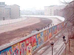 Imagem do muro de Berlim.