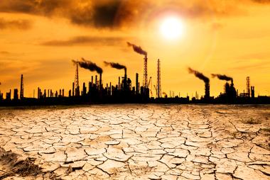 O aquecimento global, em algumas previsões, pode provocar graves problemas socioambientais