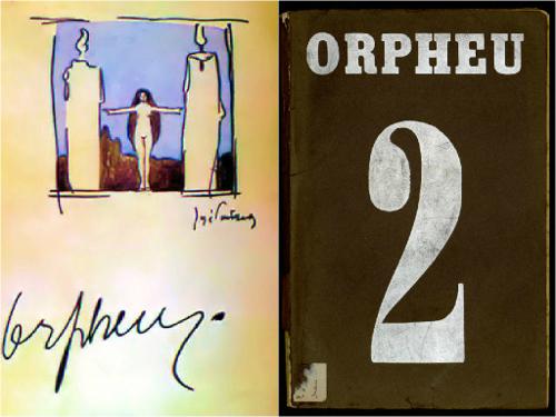A revista Orpheu foi criada por um grupo de artistas plásticos e escritores que tinha como principal objetivo divulgar a estética modernista em Portug