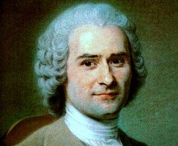 Rousseau, um dos pensadores do liberalismo.