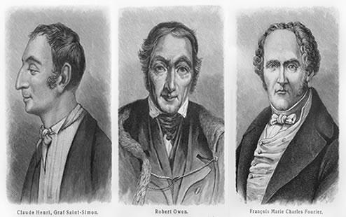 O socialismo utópico teorizou o mundo do século XIX