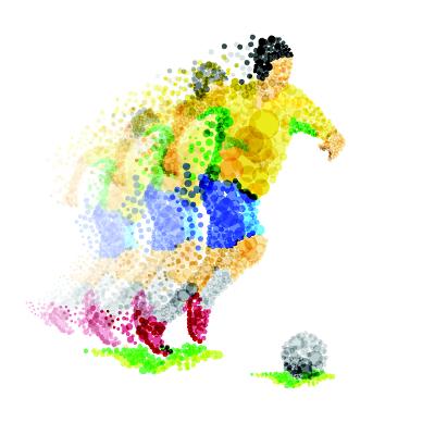 Assim como em outras profissões, os jogadores e profissionais da área do futebol desenvolveram uma linguagem bem característica: o futebolês