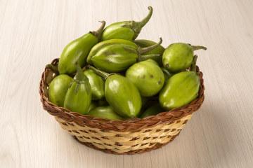 O jiló é um fruto amplamente utilizado na culinária