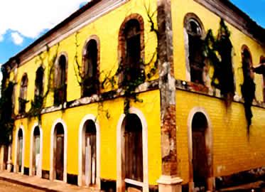 As cidades coloniais refletiam a concepção de exploração colonial dos portugueses.
