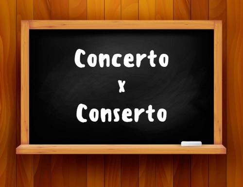 Concerto ou conserto