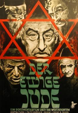Os judeus foram alvos de uma ostensiva caracterização negativa durante o período nazista *