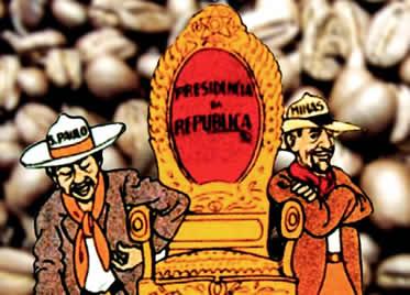 """A alternância de mineiros e paulistas na presidência só foi possível com a """"política dos governadores""""."""