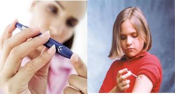 A diabetes do tipo 1 é mais frequente em crianças e adolescentes