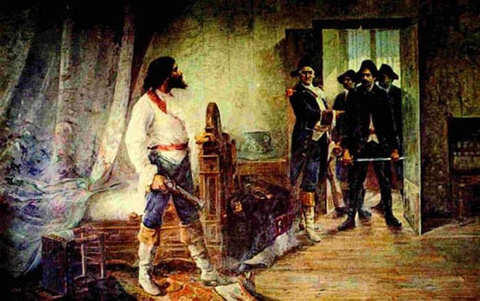 Tiradentes foi preso em 1789, mas a sentença de seu julgamento só foi dada em 1792