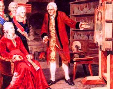 Catarina II foi uma monarca visivelmente influenciada pelos princípios iluministas.