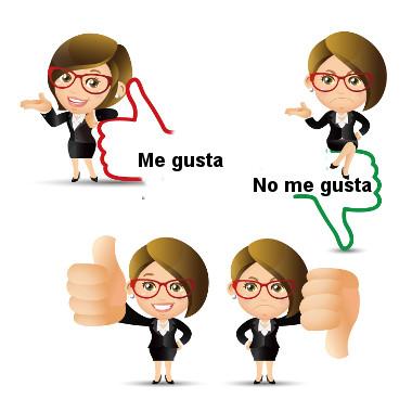 O verbo gustar e seu equivalente no português, gostar, possuem a mesma carga semântica, mas se usam de forma distinta