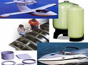Os Composites são vastamente utilizados.