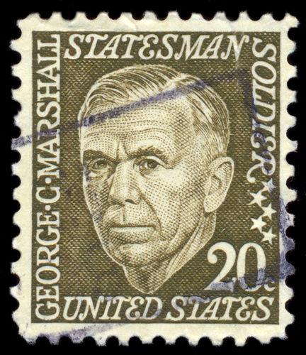George C. Marshall, foi secretário dos EUA e foi o idealizador do Plano Marshall