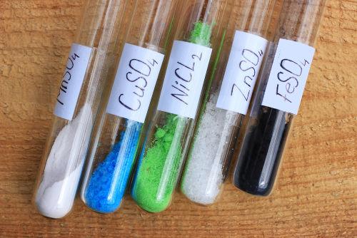Exemplos de sais que sofrem hidrólise salina de ácido forte com base fraca