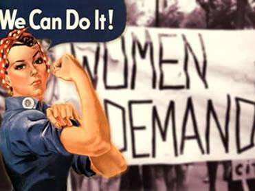 O feminismo: movimento que marcou as várias transformações ocorridas na década de 1960.
