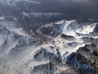 Cadeias de montanhas apresentam uma menor pressão atmosférica