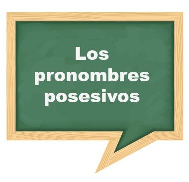 Os pronomes possessivos do Espanhol indicam posse, assim como no Português, mas apresentam usos distintos