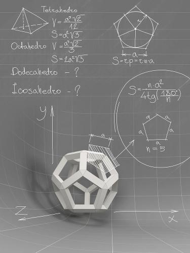 Algumas relações entre figuras geométricas e fórmulas algébricas
