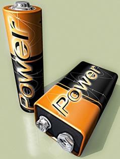 As pilhas e as baterias possuem polaridades fixas. Dessa forma, o campo elétrico por elas produzido em um fio é constante.
