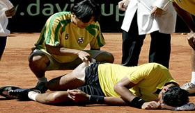 Cãibras ocorrem com maior freqüência em atletas.