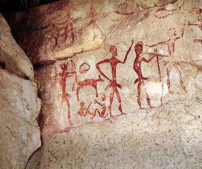 Pinturas rupestres são importantes fontes de estudo das sociedades da Pré-História
