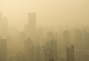 A poluição do ar é um problema extremamente grave que traz muitas consequências à saúde humana