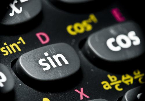 Seno e cosseno são duas das razões trigonométricas que podem aparecer em inequações