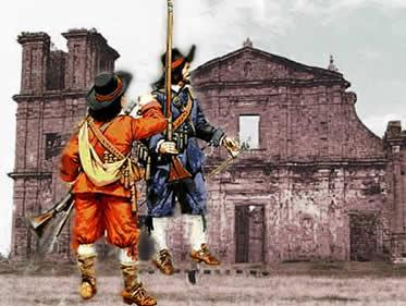 As Guerras Guaraníticas marcaram tragicamente o processo de redefinição dos limites coloniais.