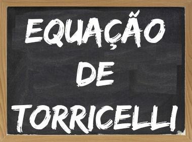 A importância da equação de Torricelli vem do fato de que ela não depende do intervalo de tempo