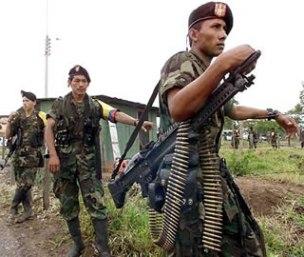 FARC: movimento revolucionário armado de inspiração comunista.