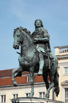 Frederico II, rei da Prússia, foi um dos principais envolvidos na Guerra dos Sete Anos