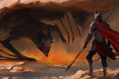 O dragão é uma das figuras que povoam o imaginário do maravilhoso na Idade Média