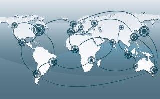 As redes de cidades expressam a integração entre os diferentes centros urbanos