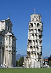 Por que a Torre de Pisa é torta?